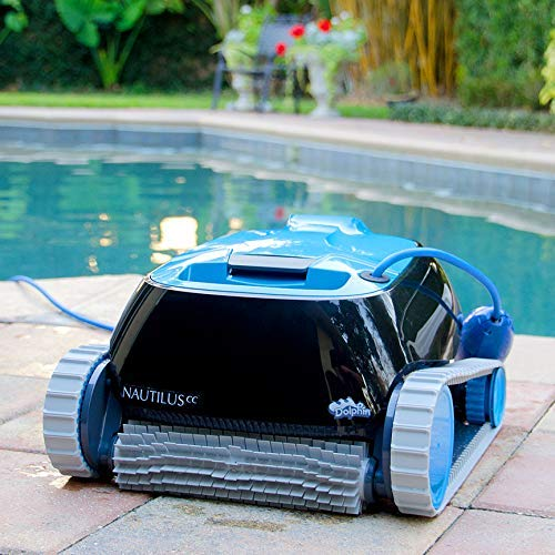 Dolphin Nautilus CC Automatic Robotic Pool Cleaner with Large Capacity Top Load Filter Basket